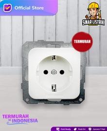 Stop Kontak Ground Child Protection Dinding Panasonic WEJ11217 WS