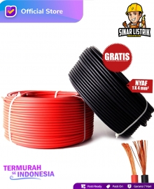 Kabel NYAF Isi 1X4 mm2 Jembo D-03BRG-SN-LK