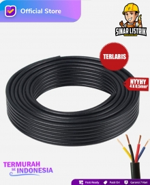 Kabel NYYHY Isi 4X0.5 mm2 Jembo