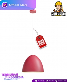 Lampu Gantung Pendant Red