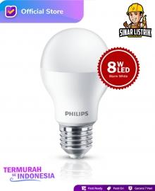 Lampu Philips LED 8W Warm White