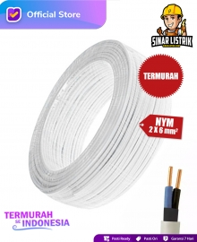 Kabel NYM Isi 2X6 mm2 Jembo