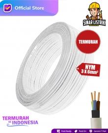 Kabel NYM Isi 3X6 mm2 Jembo