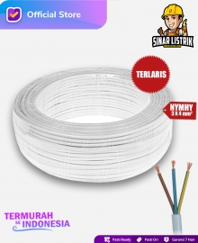 Kabel NYMHY Isi 3X4 mm2 Jembo