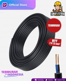 Kabel NYY Isi 2X1.5 mm2 Jembo