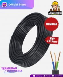 Kabel NYY Isi 3X1.5 mm2 Jembo C-010H-SN-LK