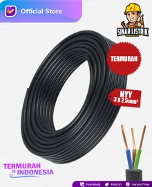Kabel NYY Isi 3X2.5 mm2 Jembo