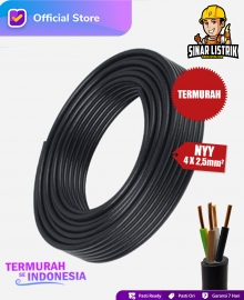 Kabel NYY Isi 4X2.5 mm2 Jembo