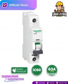 MCB Schneider iC60 1P 63A
