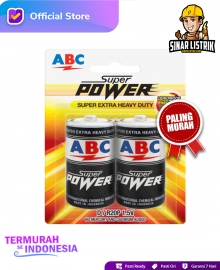 Baterai ABC Super Power D